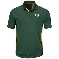 Big & Tall Majestic Green Bay Packers Synthetic Polo
