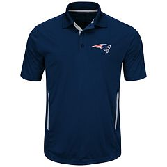 Big & Tall Majestic New England Patriots Synthetic Polo