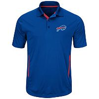 Big & Tall Majestic Buffalo Bills Synthetic Polo