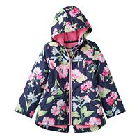 Toddler Girl Carter's Midweight Print Anorak Jacket