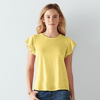 Women's SONOMA Goods for Life™ Flutter Tee