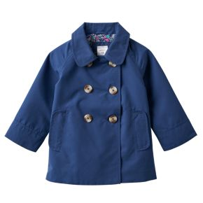Girls 4-6x Carter's Solid Lightweight Trench Coat