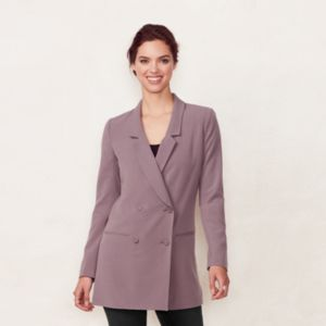 Women's LC Lauren Conrad Double-Breasted Blazer