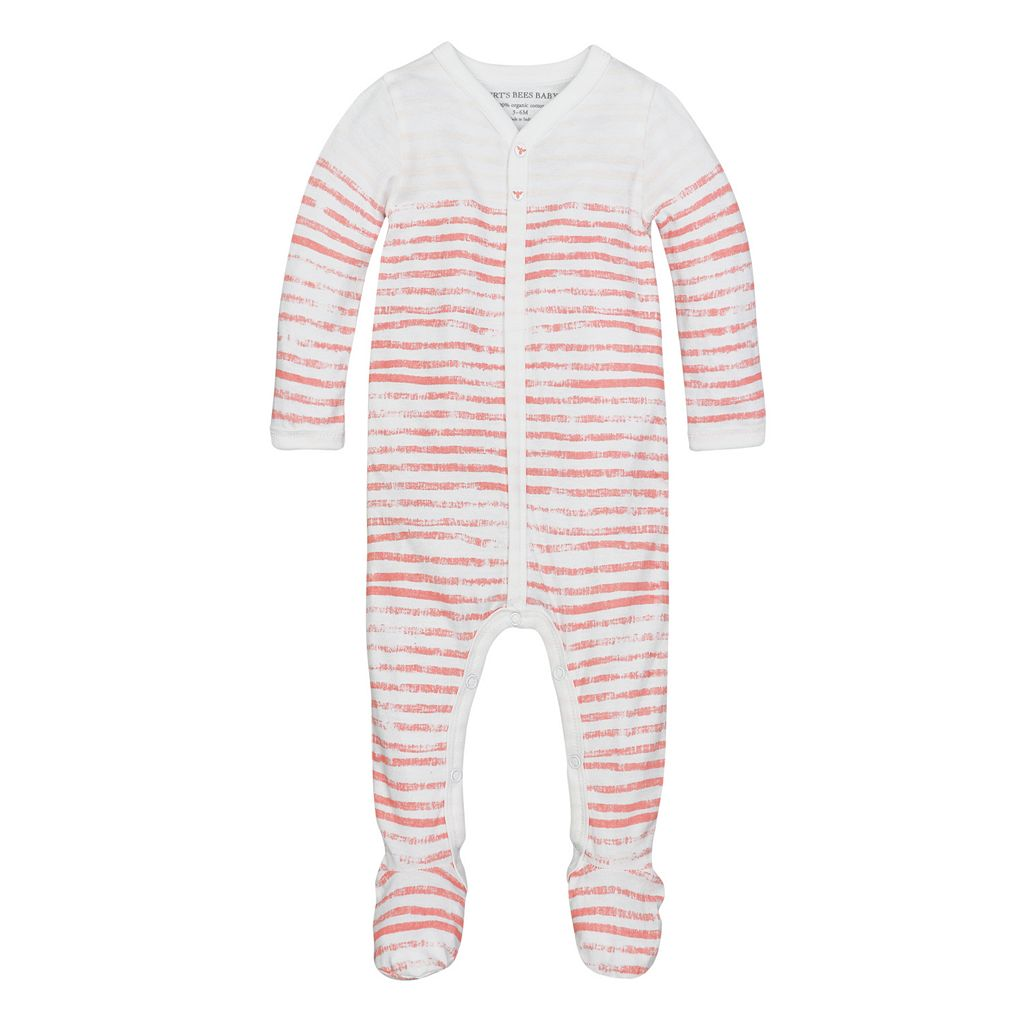 Baby Burt's Bees Baby Organic Striped Print Sleep & Play
