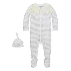 Baby Burt's Bees Baby Organic Striped Print Sleep & Play