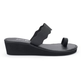 Apt. 9® Women's Scalloped Wedge Flip-Flops