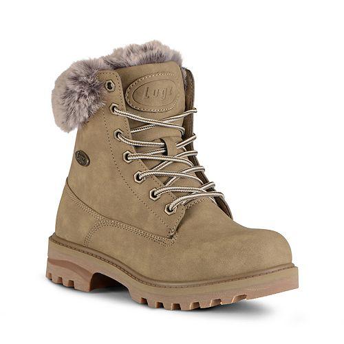 Lugz Empire Hi Faux-Fur Women's Water-Resistant Boots