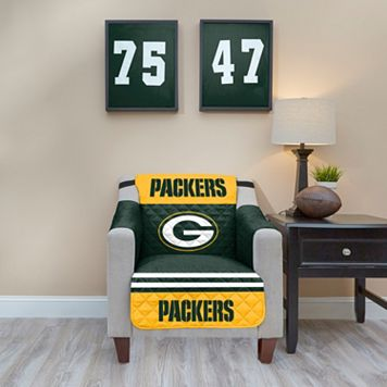 Green Bay Packers Quilted Chair Cover