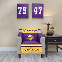 Minnesota Vikings Quilted Chair Cover