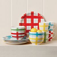 Gibson Home General Store 12 pc Round Dinnerware Set