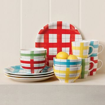 Gibson Home General Store 12-pc. Round Dinnerware Set