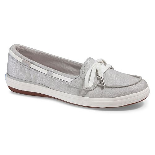 Keds Glimmer Lurex Women's Ortholite Boat Shoes
