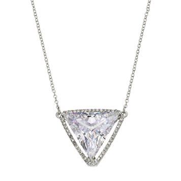 Jennifer Lopez Red Carpet Ready Triangular Necklace