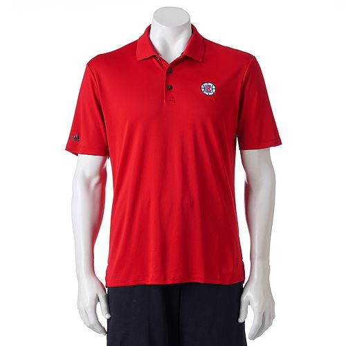 Men's adidas Los Angeles Clippers climacool Golf Polo