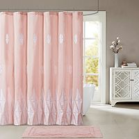Madison Park Sabrina Embroidered Shower Curtain