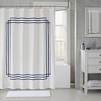 Madison Park Coelho Applique Shower Curtain