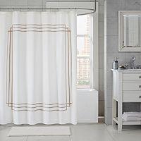 Madison Park Coelho Applique Shower Curtain