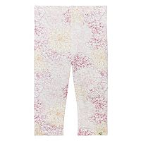 Toddler Girl Burt's Bees Baby Garden Floral Capri Leggings