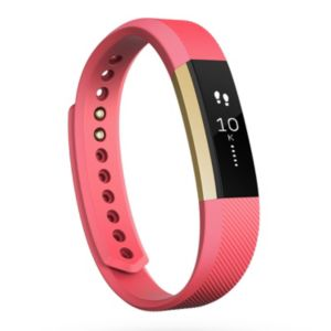 Fitbit Pink Alta Gold Wireless Activity Tracker