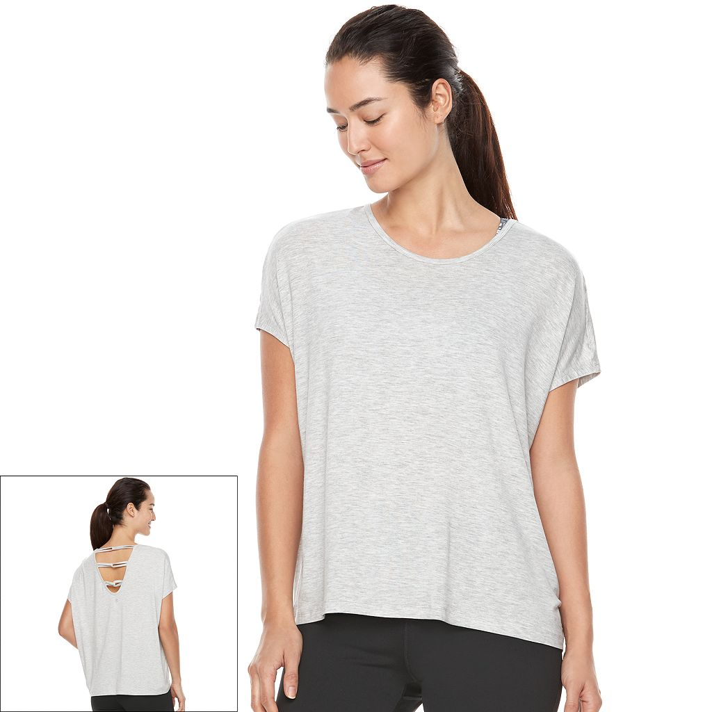 Women's Gaiam Aura Short Sleeve Yoga Top