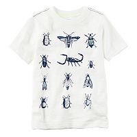 Boys 4-8 Carter's Short Sleeve Bugs Graphic Tee