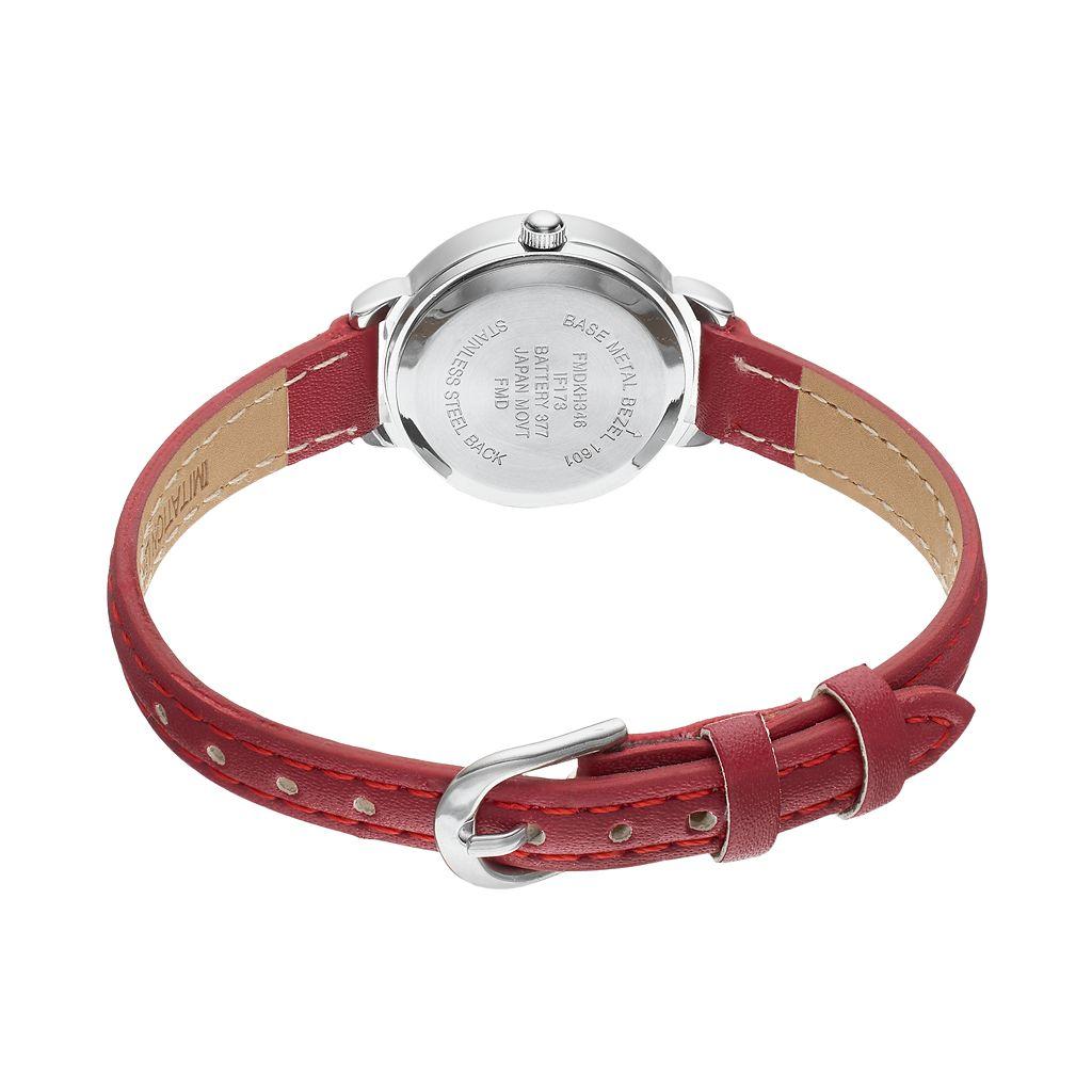 Women's Diamond Leather Watch