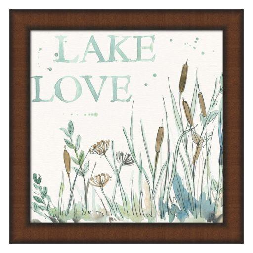 Metaverse Art Lakehouse VI Framed Wall Art