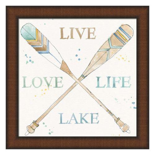 Metaverse Art Lakehouse V Framed Wall Art