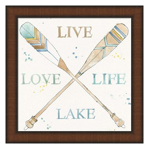 Metaverse Art Lakehouse V Framed Wall Art