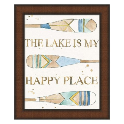 Metaverse Art Lakehouse III Framed Wall Art