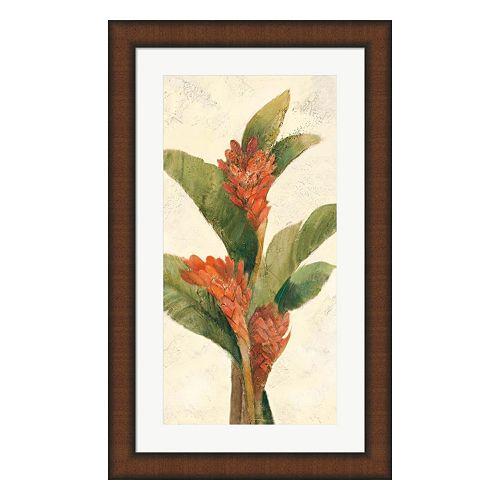 Metaverse Art Ginger Blossom Framed Wall Art