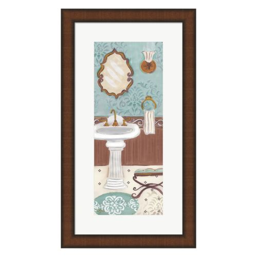 Metaverse Art Fancy Bath Panel I Framed Wall Art