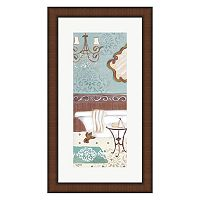 Metaverse Art Fancy Bath Panel II Framed Wall Art