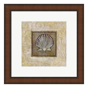 Metaverse Art Sea Shell I Framed Wall Art