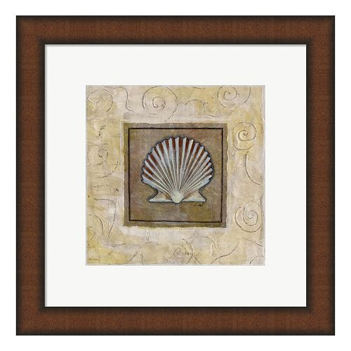 Metaverse Art Sea Shell I Framed Wall Art