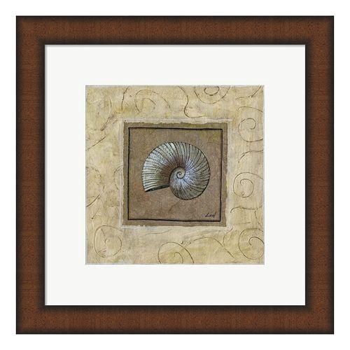 Metaverse Art Sea Shell II Framed Wall Art