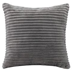 Madison Park Parker Corduroy Plush Throw Pillow