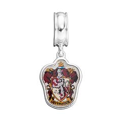 Harry Potter Sterling Silver Gryffindor Crest Charm