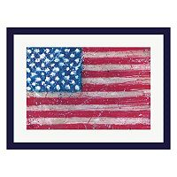Metaverse Art Americana Framed Wall Art