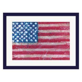 Metaverse Art Americana Framed Wall Art