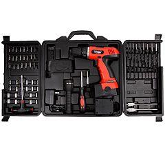 Stalwart 78 pc 18V Cordless Drill Set