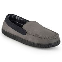 Perry Ellis Men's Moccasin Slippers