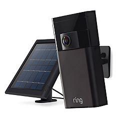 Ring Stick Up Cam Security Camera & Solar Power Bundle