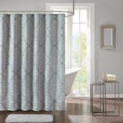 Madison Park Anouk Jacquard Shower Curtain
