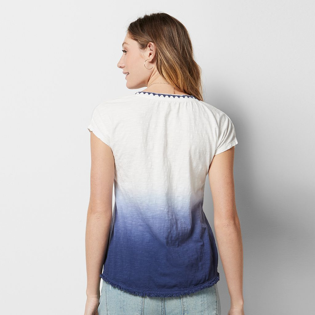Women's SONOMA Goods for Life™ Dip Dye Tee