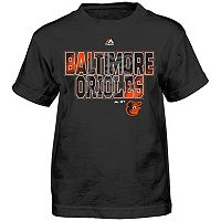 Boys 4-7 Majestic Baltimore Orioles Spark Tee