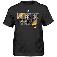 Boys 4-7 Majestic Pittsburgh Pirates Spark Tee