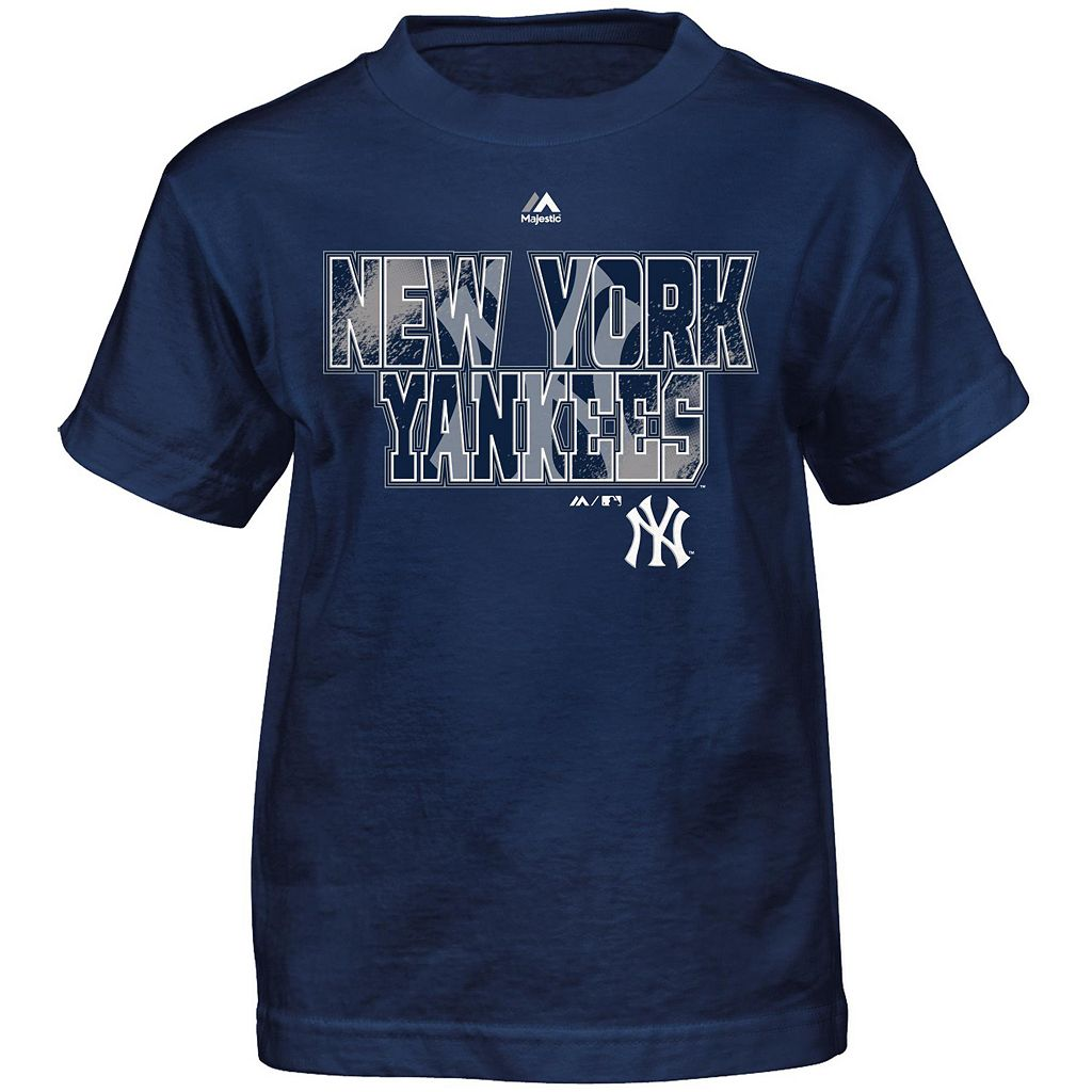 Boys 4-7 Majestic New York Yankees Spark Tee