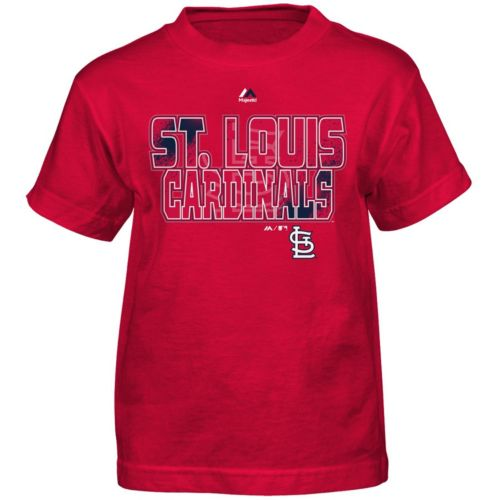 Boys 4-7 Majestic St. Louis Cardinals Spark Tee