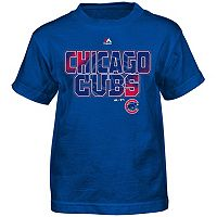 Boys 4-7 Majestic Chicago Cubs Spark Tee